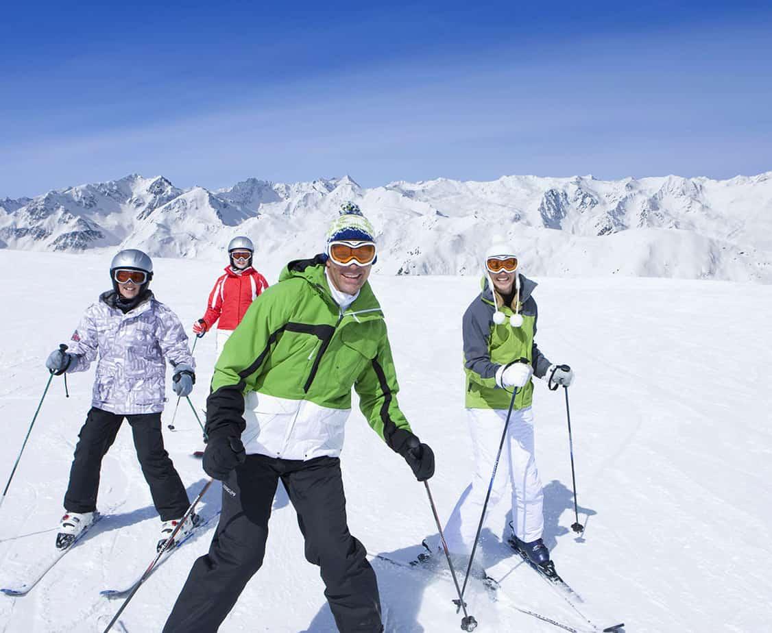 family ski trip